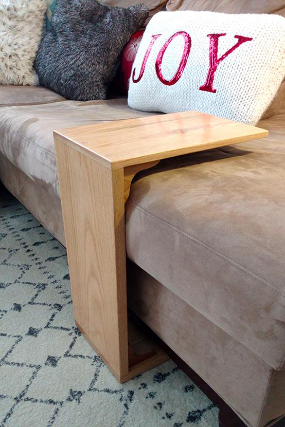 Bespoke Oak Sofa Stand