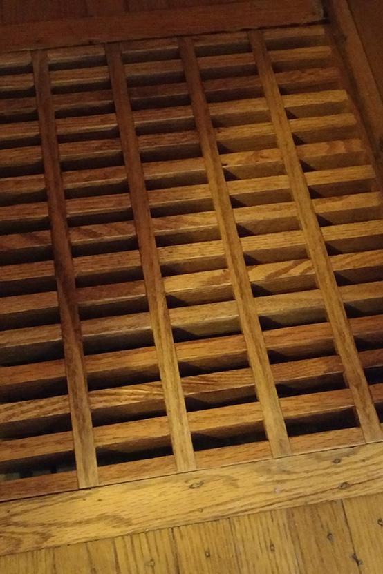 Bespoke Oak Floor Grate