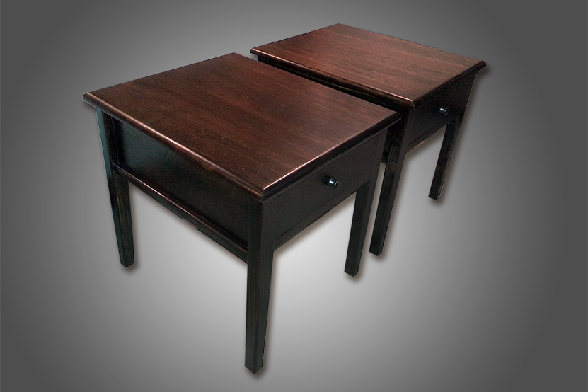 End Tables made by Josh Randall of RandallsWoodWorkas.com